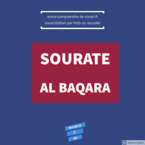 www.comprendre-le-coran.fr Sourate al Baqara
